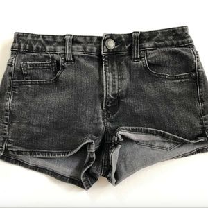 American Eagle Outfitters Women's Black Shorts